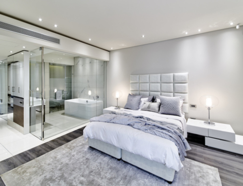 How glass is taking over your bedroom